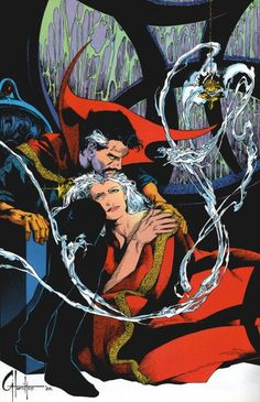 Dr Strange and Clea by Craig Hamilton