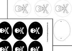 Druckvorlagen für Piraten-Augenklappen pirate party free pintables