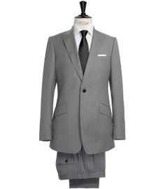 Reiss Abingdon peak lapel suit (Spring/Summer 2011)  As worn by Moriarty in The Reichenbach Fall    One button single breast, slanted pocket detail. 70% wool.  拢455 / $718