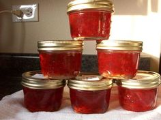Crab Apple Hot Pepper Jelly - must remember to make this again