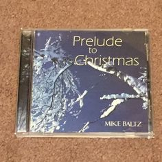 Prelude to Christmas by Mike Baltz CD, Music, Christmas, Christian, Songs  #Christmas