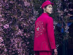 fashion magazine - maos new suit