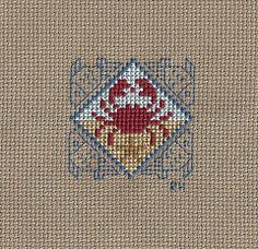 PS Sunny Days crab by Renee's Stitching