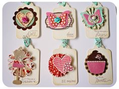 Hello… I thought I would like to share with you one of my published Valentine tags for CARDS Magazine Feburary It's in page 120 in Cards February There are a total of 6 different … Card Tags, Gift Tags, Valentine Day Cards, Valentines, Handmade Tags, Candy Cards, Paper Tags, Scrapbook Embellishments, Scrapbook Paper Crafts