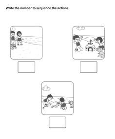 Picture Sequence Worksheet 20 - esl-efl Worksheets - kindergarten Worksheets