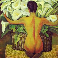 Diego Rivera Art, Diego Rivera Frida Kahlo, Mexican Artwork, Mexican Paintings, Time Painting, Fabric Painting, Frida E Diego, Latino Art, Mexico Art