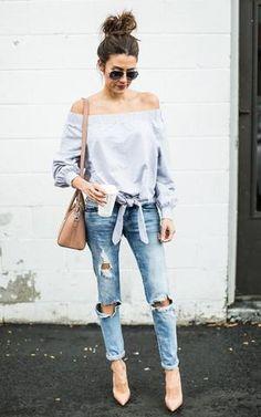 3521f872e3 Off the Shoulder Tie Sweatshirt (SHIPS 11 15) Short Jeans