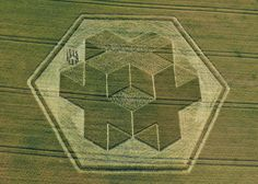 crop circles | Crop circle pattern in Clay Hill, near Warminster, Wiltshire, 9 July ...
