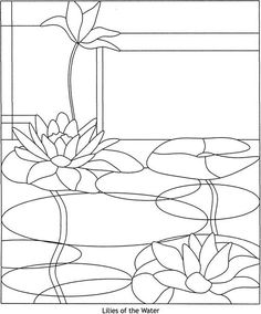 Contemporary Designs Stained Glass Pattern Book  PATTERN 1 Welcome to Dover Publications #StainedGlassDrawing