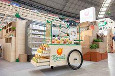 Stand Vegetalia, Fira Alimentaria Barcelona.   Proyectos producidos por Essa Punt.