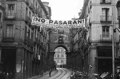 """""""Madrid será la tumba del franquismo"""" y el lema de la defensa de la capital: """"¡No pasarán!"""". / EFE"""