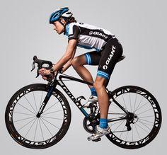Giant Triathlete Helen Jenkins riding her 2013 Giant TCR Advanced SL carbon road bike