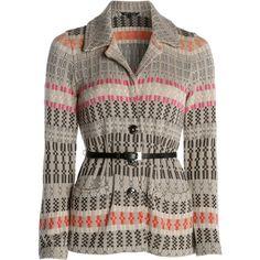 NIC+ZOE Novelty Knit Jacket ($196) ❤ liked on Polyvore