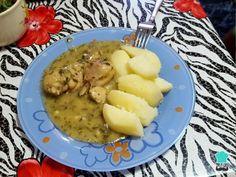 Receta de Pollo en salsa verde #RecetasGratis #RecetasFáciles #RecetasdeCocina #Pollo #ChickenLovers #SalsaVerde