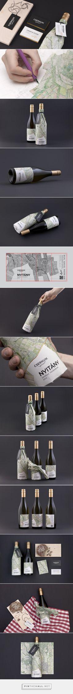 Nyitány #Wine Label designed by Peltan-Brosz Roland and Rohmann Nóra - http://www.packagingoftheworld.com/2015/04/csernyik-pince-nyitany-wine-label.html