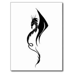 Tribal Dragon Tattoo Postkarten, Tribal Dragon Tattoo Postkarten – Tribal Drago… - tattoos for women Dragon 2, Dragon Henna, Tribal Dragon, Dragon Sleeve Tattoos, Tribal Sleeve Tattoos, Japanese Dragon Tattoos, Japanese Sleeve Tattoos, Cool Small Tattoos, Unique Tattoos
