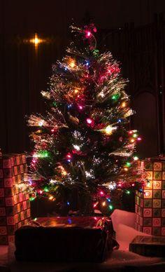 Black Christmas Tree Decorations, 2013 Black Christmas Tree Colorful lights Decorations  #Black #Christmas #Tree #Decorations  www.loveitsomuch.com