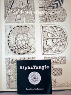 zentangle alphabet use for art to remember