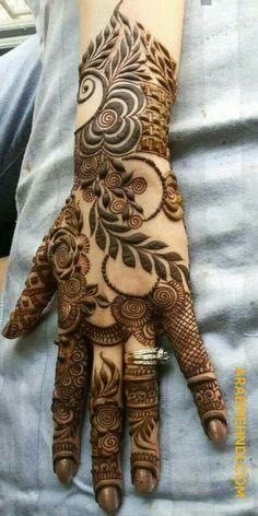 Khafif Mehndi Design, Floral Henna Designs, Latest Bridal Mehndi Designs, Full Hand Mehndi Designs, Stylish Mehndi Designs, Mehndi Designs 2018, Mehndi Designs For Beginners, Mehndi Designs For Girls, Mehndi Design Photos