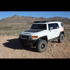 Baja Rack All Flat Utility Rack for FJ Cruiser - Standard Fj Cruiser Parts, Fj Cruiser Mods, Best Off Road Vehicles, 2007 Toyota Fj Cruiser, Voodoo Blue, Top Tents, Trd, Roof Rack, Flat