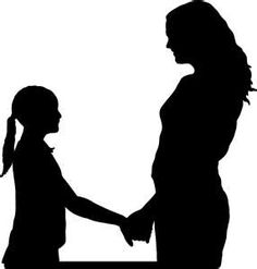 mom and son relationship clip art