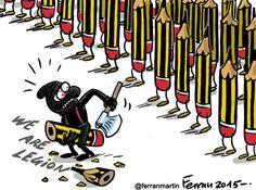 Je suis Charlie Hebdo! #jesuischarlie #CharlieHebdo