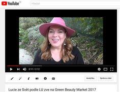 youtube.com - pozvánka - bloggerka Svět podle LU