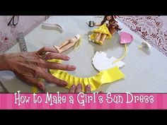Polymer Clay Tutorial - How to Make a Girl's Sundress  More Video Tutorials at http://www.youtube.com/user/PolymerClaybyDeb/videos