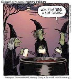 They don't beater round the bush. <--A little Halloween humor from George Takei.