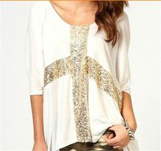Women Casual T-Shirts, Loose Batwing Sleeve Style T-Shirt, Plus Size