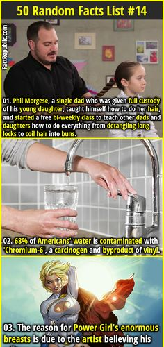 of Americans' water is contaminated with a carcinogen and byproduct of vinyl. Wow Facts, Wtf Fun Facts, Funny Facts, Crazy Facts, Random Facts, Strange Facts, Strange Things, Random Stuff, Useless Knowledge