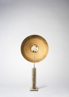 Luminaires d'exception signés HISLE. Design, Conception et Fabrication en France. Designer Hervé Isle de Beauchaine. CYMBALE.