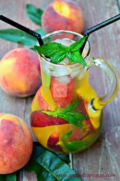 propriul Dessert Recipes, Desserts, Moscow Mule Mugs, Pear, Cooking, Tableware, Recipes, Syrup, Lemonade