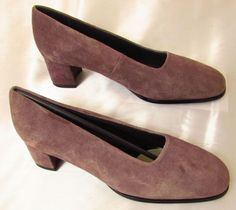 3d02a27f76 VALLEY LANE General Leather Suede Mauve-Pumps-2