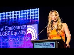 Laverne Cox at Creating Change 2014