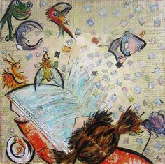 Scoprire oltre - Michaela Kasparova, sezione arti grafiche e pittoriche