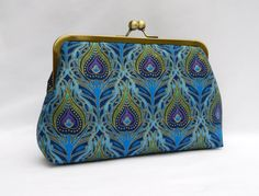 Hey, I found this really awesome Etsy listing at https://www.etsy.com/listing/253312314/clutch-purse-peacock-clutch-evening