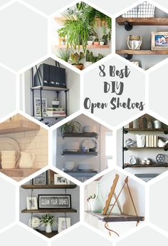8 Best DIY Open Shel