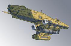 torpedo ship, Mark Li on ArtStation at https://www.artstation.com/artwork/xNkg4