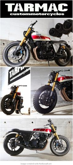 Yamaha XJ900 By Tarmac Custom Motorcycles - created via http://pinthemall.net