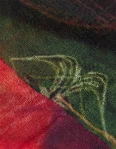 MULTI-Hibiscus Scarf Silk Scarves, Womens Scarves, Hibiscus, Women Wear, Fabric, Prints, Design, Tejido, Tela