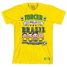 Camiseta Turma da Mônica - Seleção da Mônica