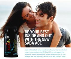 You will LOVE New Saba ACE!  Place a one-time order or become a Saba Preferred Customer or a Saba Distributor today!