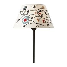 ALVINE PÄRLA Shade IKEA Fabric shade gives a diffused and decorative light. Adjustable fitting; can be used with lamps with big or small light bulbs.