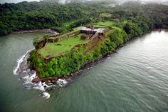 En Panama, se puedes ver ruinas de San Lorenzo.