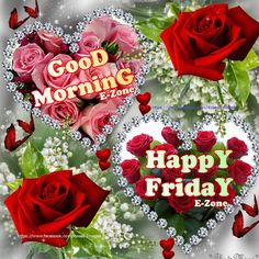 Good Morning Monday Images, Good Morning Happy Friday, Good Morning Greetings, Good Morning Good Night, Good Morning Quotes, Good Night Blessings, Beautiful Flowers, Beautiful Hearts, Heart Art