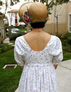 A Regency Day Dress Made from Sheets
