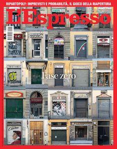 La copertina dell'Espresso in edicola da domenica 3 maggio Newspaper Cover, 3, Espresso, Kitchen, Espresso Coffee, Cooking, Kitchens, Cuisine, Espresso Drinks