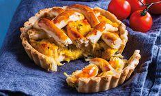 Rápida e fácil de fazer, esta tartelette de frango fica pronta em 45 minutos na sua Chef Express.