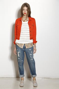 A spring '13 look from Two by Vince Camuto.
